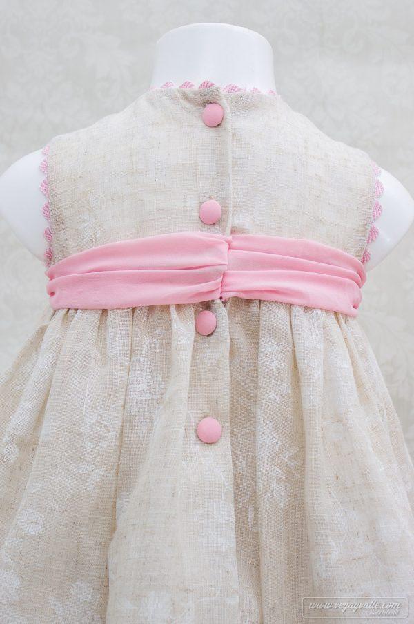 Vestido para niña · Modelo Alheli · Vega y Valle