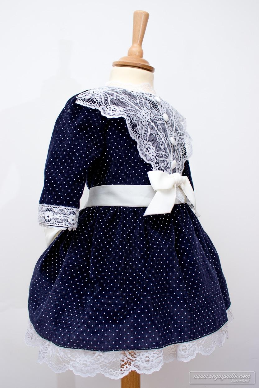 Vestido azul fuera - 3 2