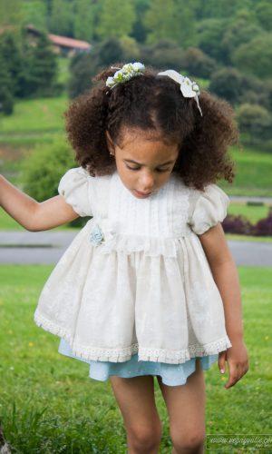 Vestido para niña · Modelo Gardenia · Vega y Valle