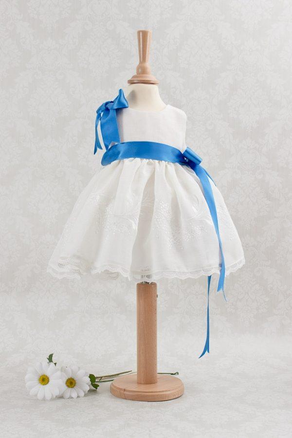 Vestido para niña de 1 a 4 años color blanco arras y ceremonia