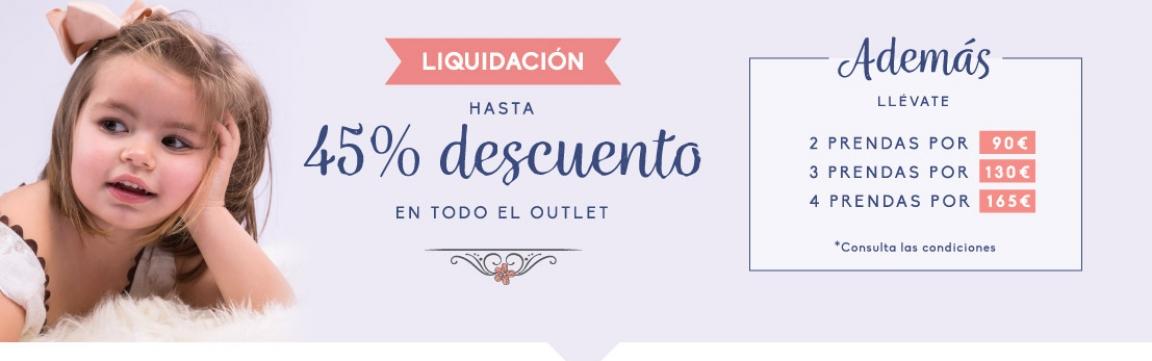 liquidación outlet